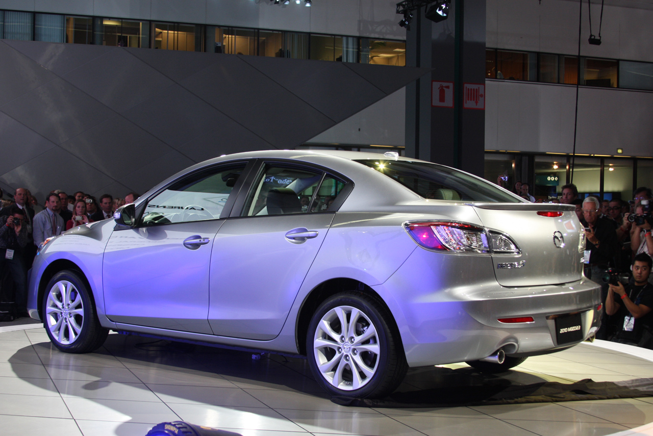 All New 2010 Mazda3 Revealed At The La 2008 Photo Video