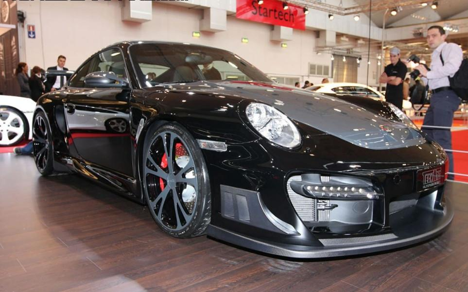 tuning techart gtstreet r porsche 911 turbo unveiled at essen motor show it s your auto world. Black Bedroom Furniture Sets. Home Design Ideas