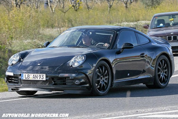 Next-gen 2011 Porsche 998 Spy photo | It's your auto world :: New ...