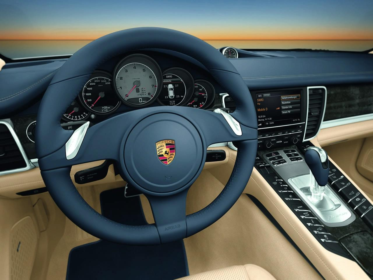 porsche panamera 2010 interior img 8 it s your auto world new cars auto news reviews. Black Bedroom Furniture Sets. Home Design Ideas