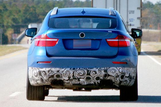 Bmw X6 2010. New 2010 BMW X6M Spied at Test