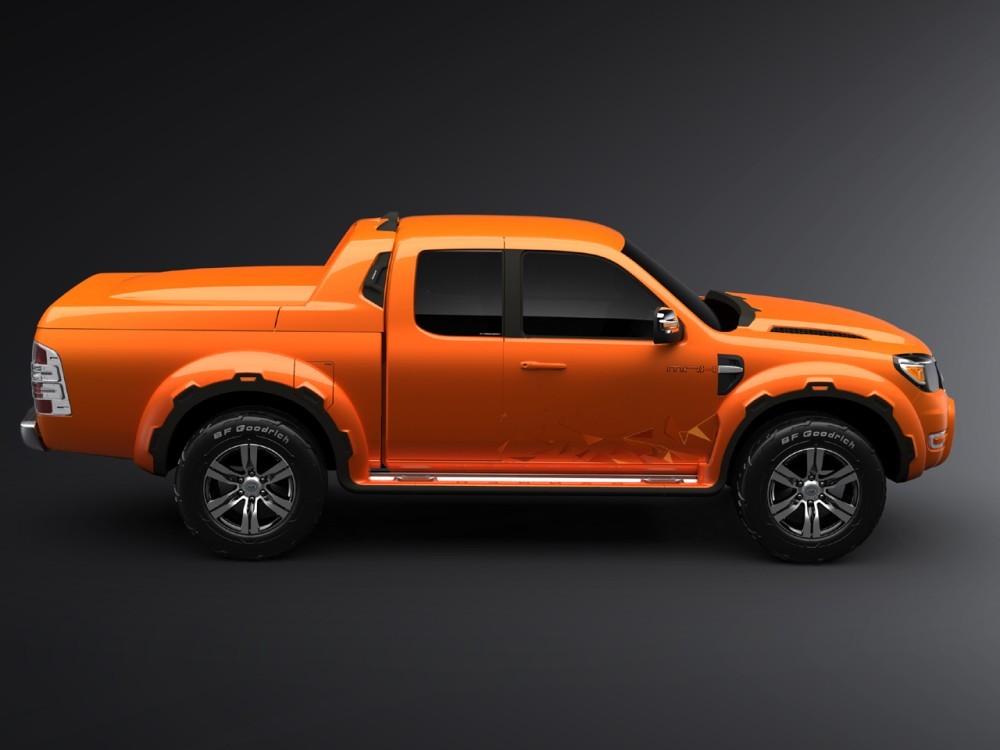 new ford ranger max pickup concept debuts at thailand motor show it s your auto world new. Black Bedroom Furniture Sets. Home Design Ideas