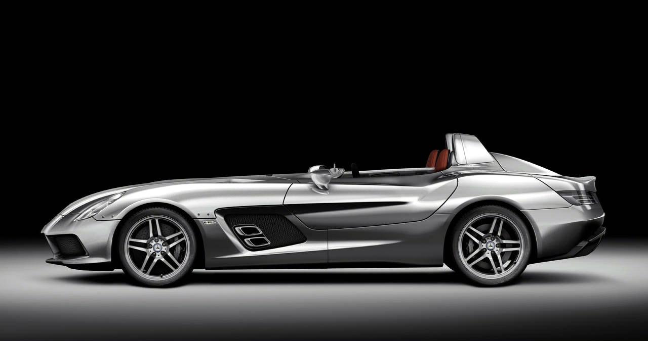 Mercedes Mclaren Slr Stirling Moss Supercar Revealed It