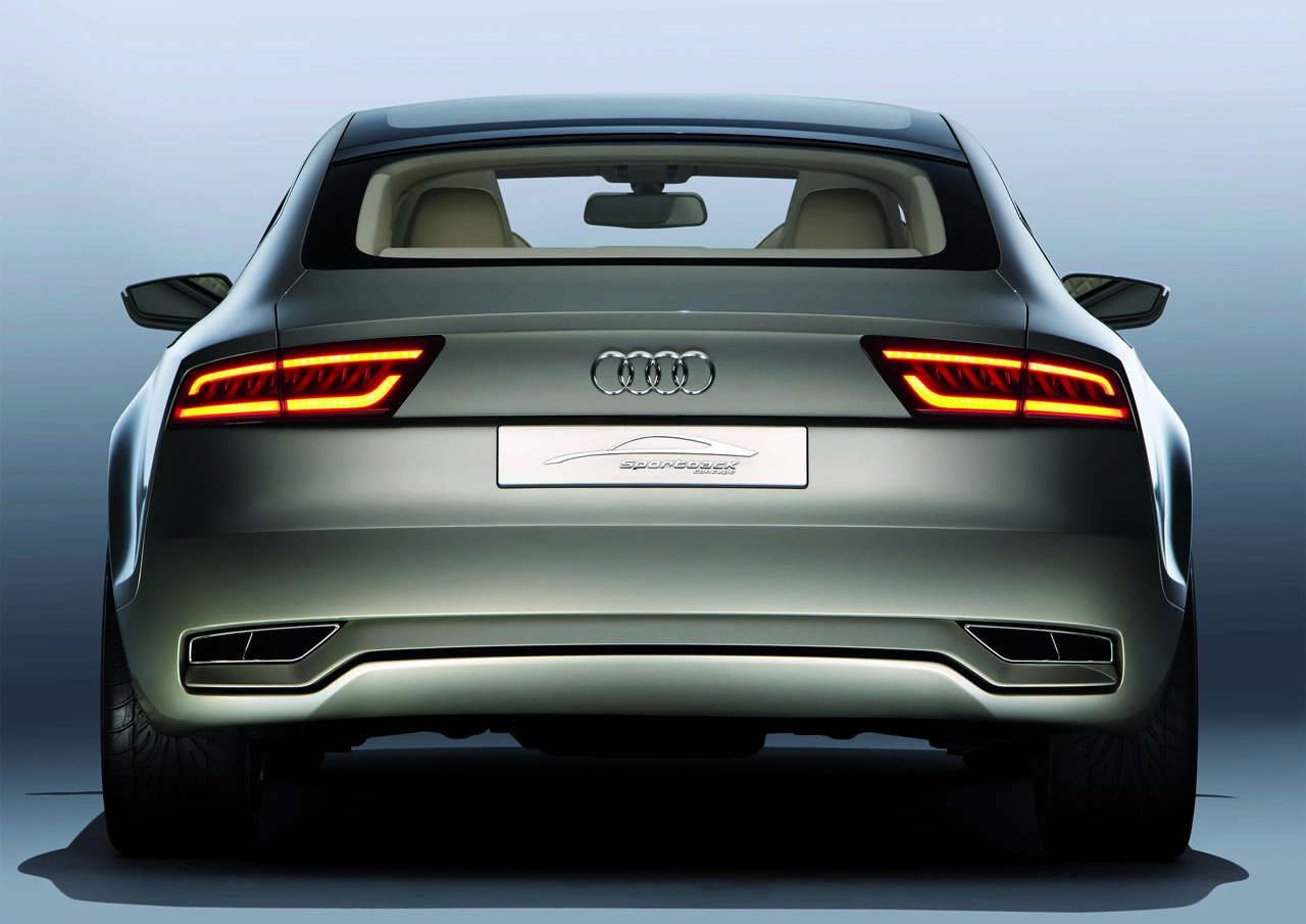 audi sportback concept officially revealed details photos and video it s your auto world. Black Bedroom Furniture Sets. Home Design Ideas
