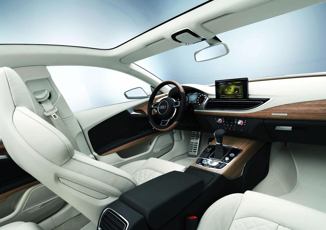 Superb Audi Sportback Concept Officially Revealed (details, Photos And Video) »  Audi A7 Sportback Concept Interior Img_5
