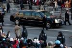 Barack Obama's Presidential Limousine LIVE ride, WASHINGTON