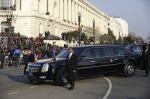 Barack Obama's Presidential Limousine LIVE ride, WASHINGTON