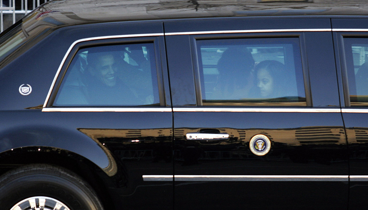 Can I Ride In A Secret Service Car