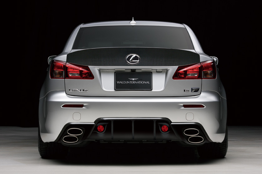 Tuning: WALD Lexus IS-F Sports Line Black Bison Edition (photos)