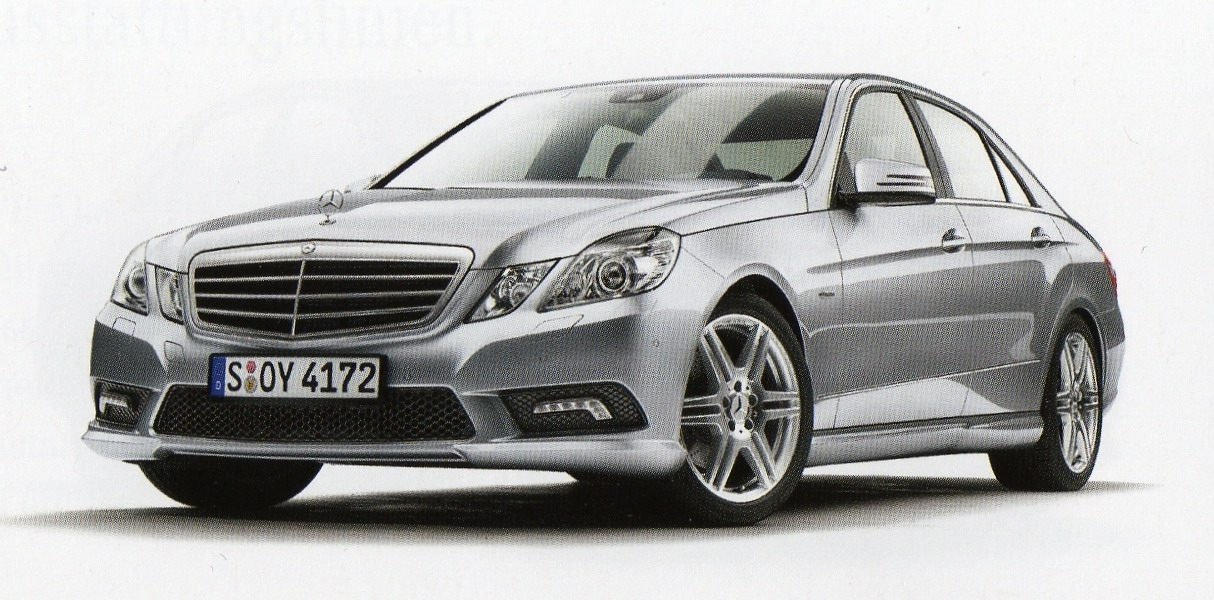 2010 mercedes e class sedan official brochure scans leaked details it s your auto world. Black Bedroom Furniture Sets. Home Design Ideas