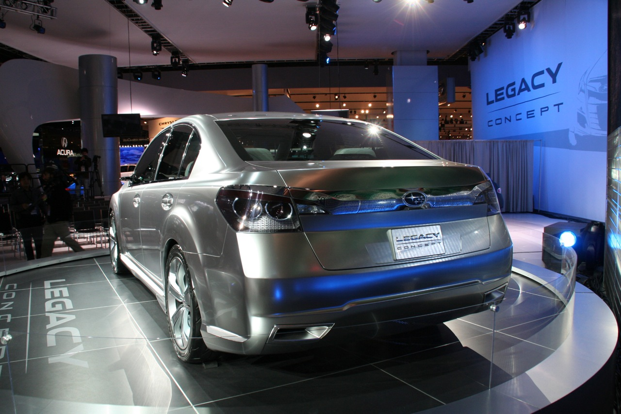 New subaru legacy concept shows its face at the detroit auto show new subaru legacy concept shows its face at the detroit auto show 2009 its your auto world new cars auto news reviews photos videos vanachro Image collections