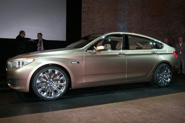 2010 BMW 5 Series Gran Turismo Concept photo - 3