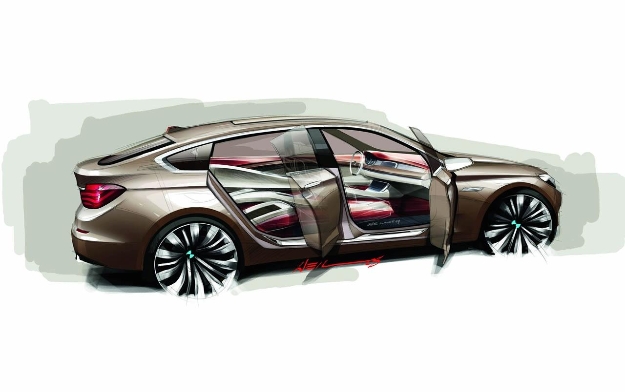 bmw-5-series-gran-turismo-concept-sketch-img_2 | It's your auto world :: New cars, auto news ...