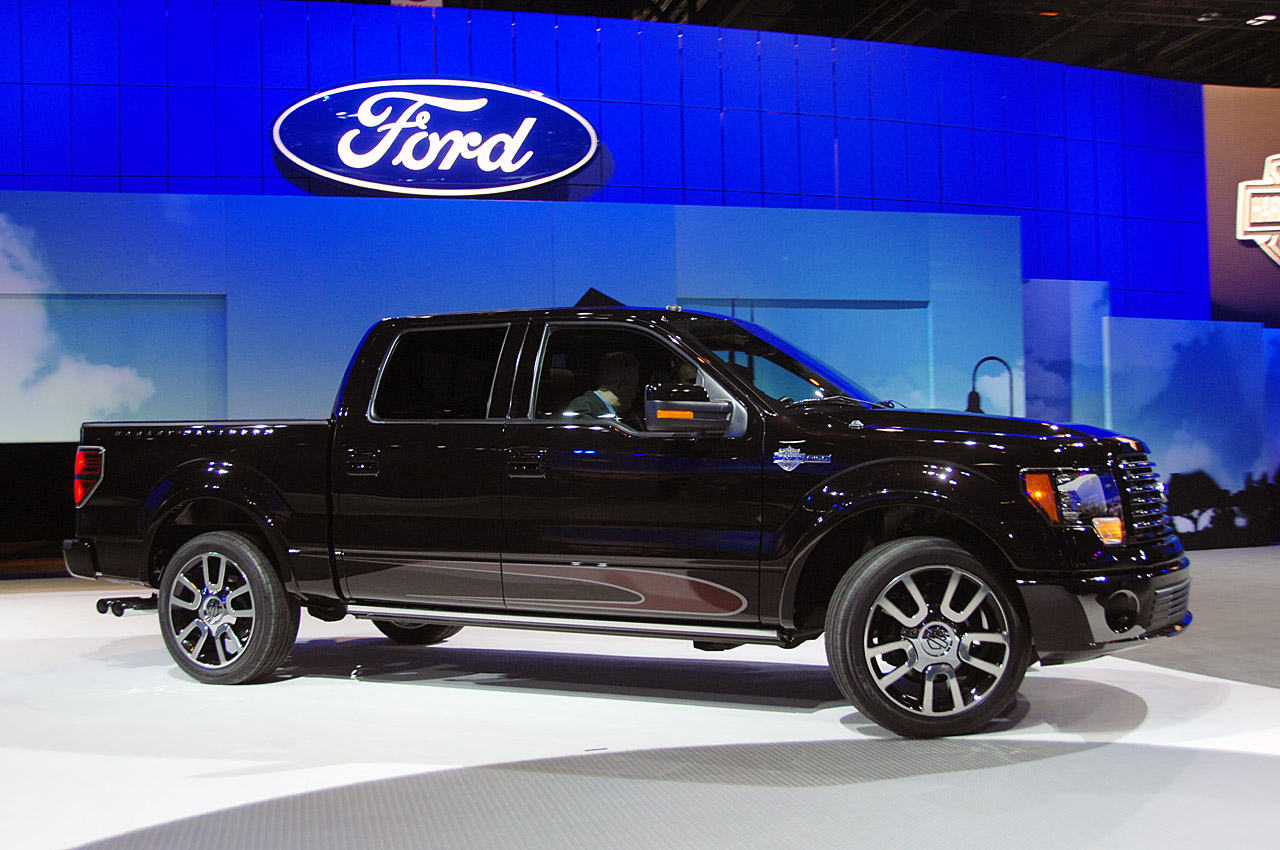 ford f 150 harley davidson edition revealed ahead of chicago auto show it s your auto world. Black Bedroom Furniture Sets. Home Design Ideas