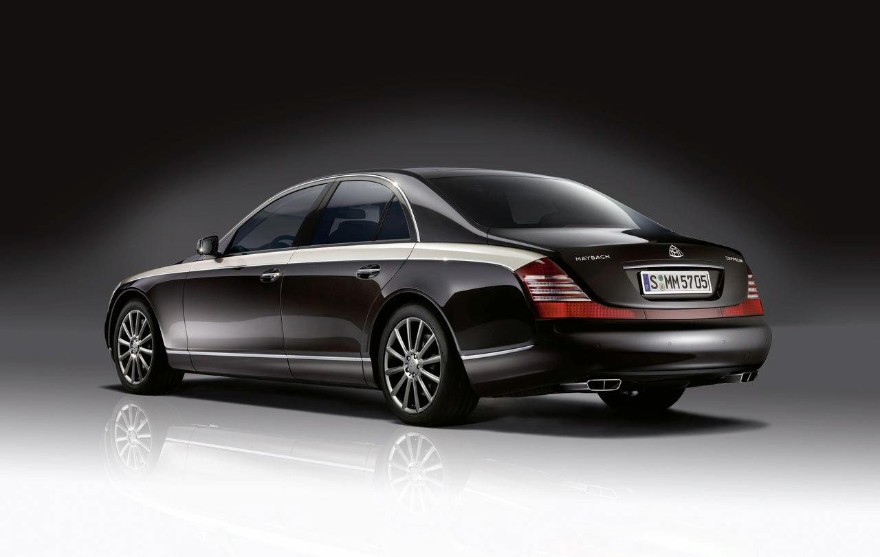 Maybach at the 2009 Geneva