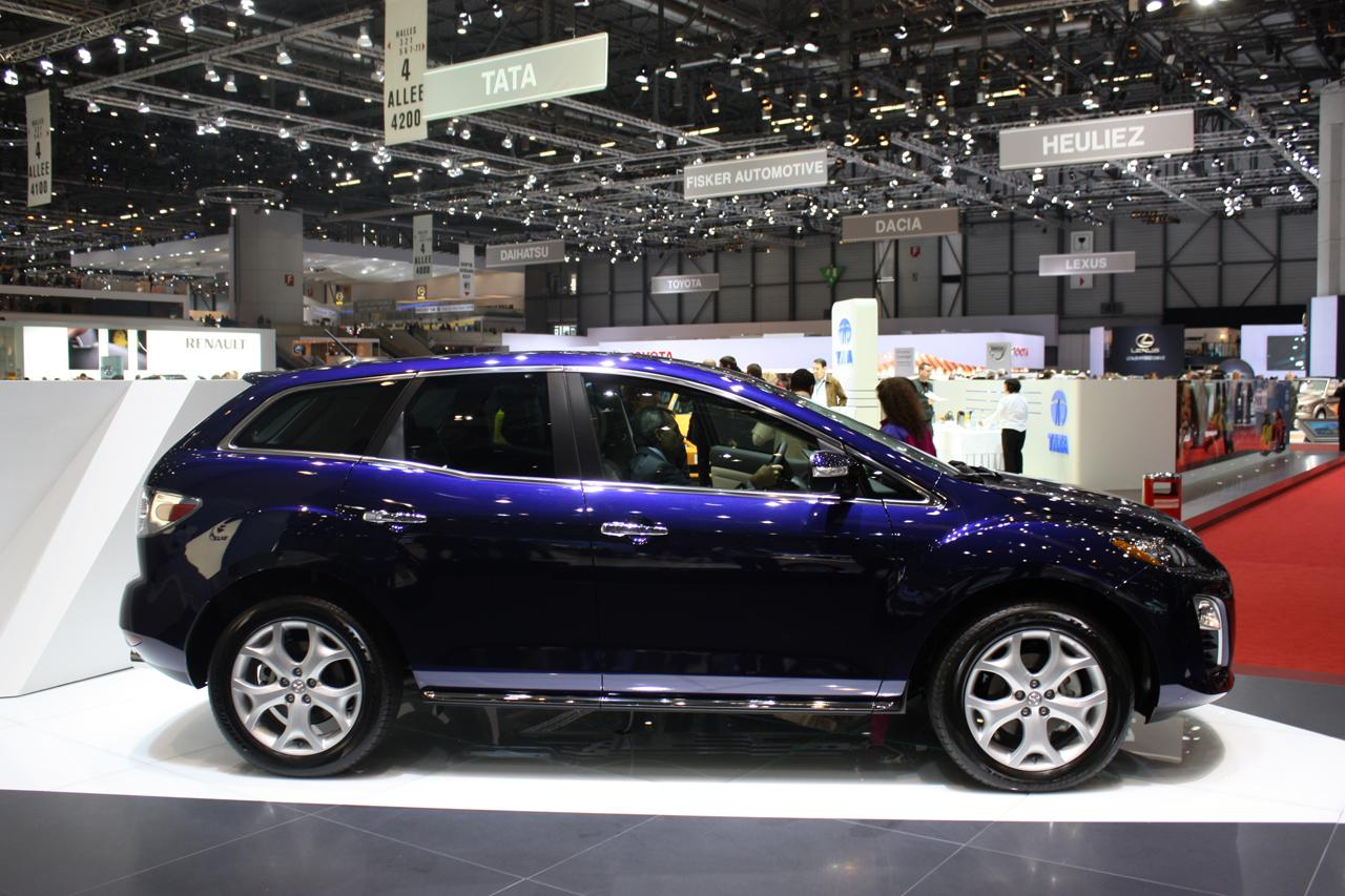 Refreshed 2010 Mazda Cx 7 Debuts At Geneva Motor Show It S Your Auto World New Cars Auto