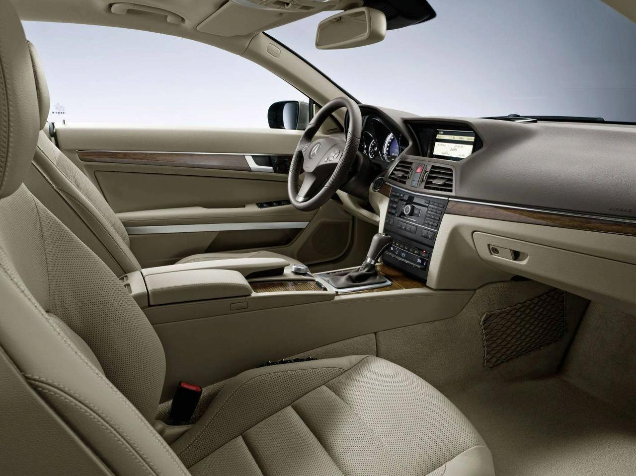 New 2010 mercedes benz e class coupe revealed ahead of geneva debut it s your auto world - Mercedes e coupe interior ...
