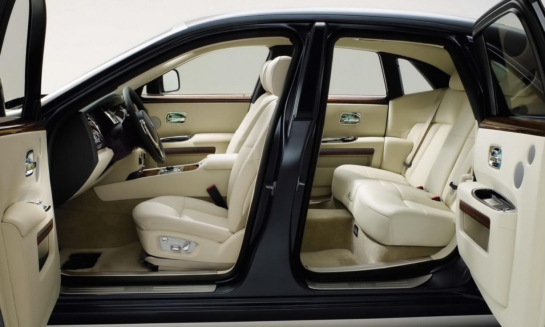 Rolls Royce Car Inside
