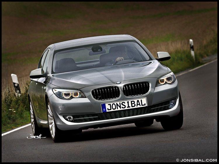 Bmw 5 Series. 2011 BMW 5-Series renderings