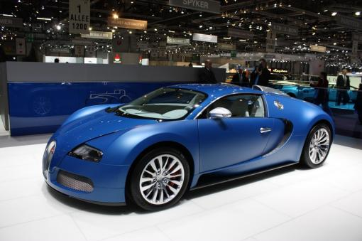 Bugatti Veyron Bleu Centenaire LIVE at Geneva img_3