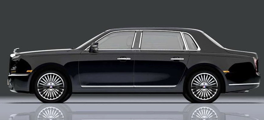 New Geely Ge Limo Is Rolls Royce Phantom Clone It S