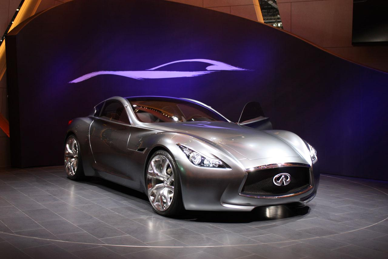 New infiniti essence concept revealed at the 2009 geneva for South motors infiniti used cars