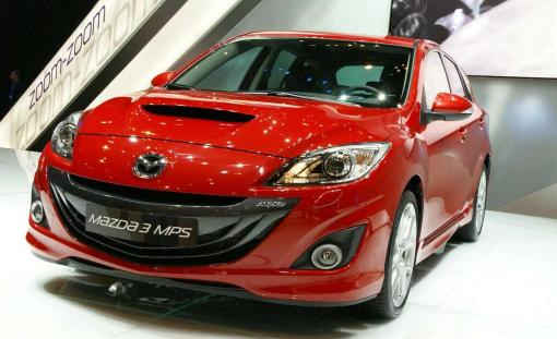 2010 Mazdaspeed3 (MPS) LIVE at Geneva Motor Show img_1