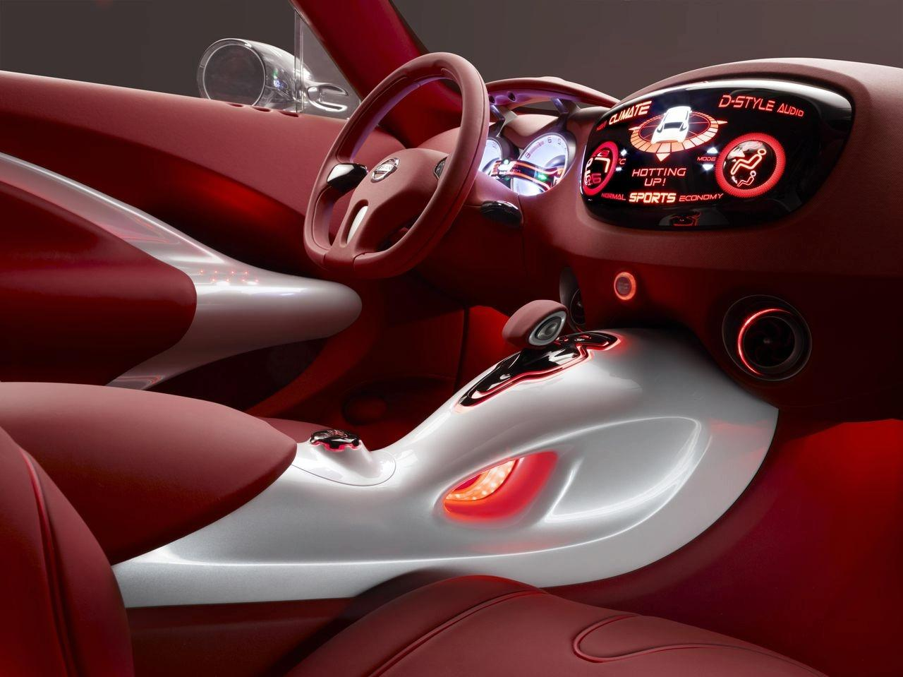 nissan qazana crossover concept interior img 3. Black Bedroom Furniture Sets. Home Design Ideas