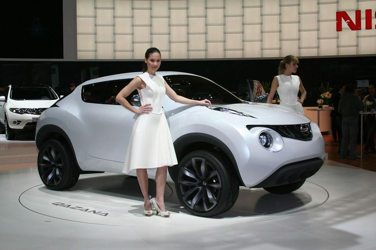 New Nissan Qazana Crossover