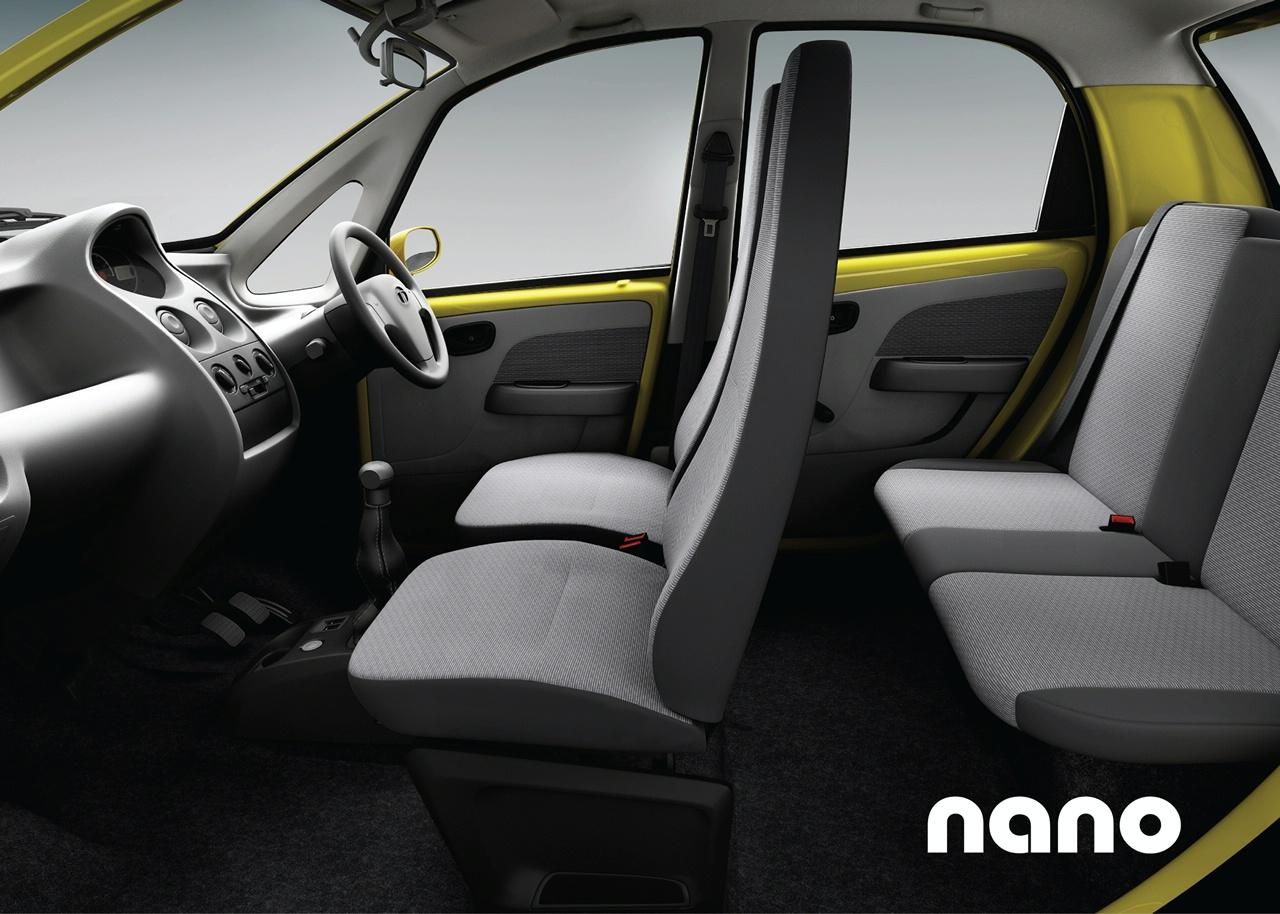 tata nano interior img 3 it s your auto world new cars auto news reviews photos videos. Black Bedroom Furniture Sets. Home Design Ideas