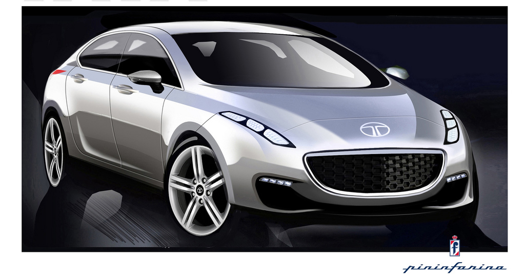 Indian Tata Prima Luxury Sedan Concept Revealed At Geneva Motor Show