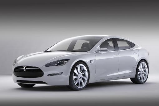 Tesla Model S elcetric car img_1