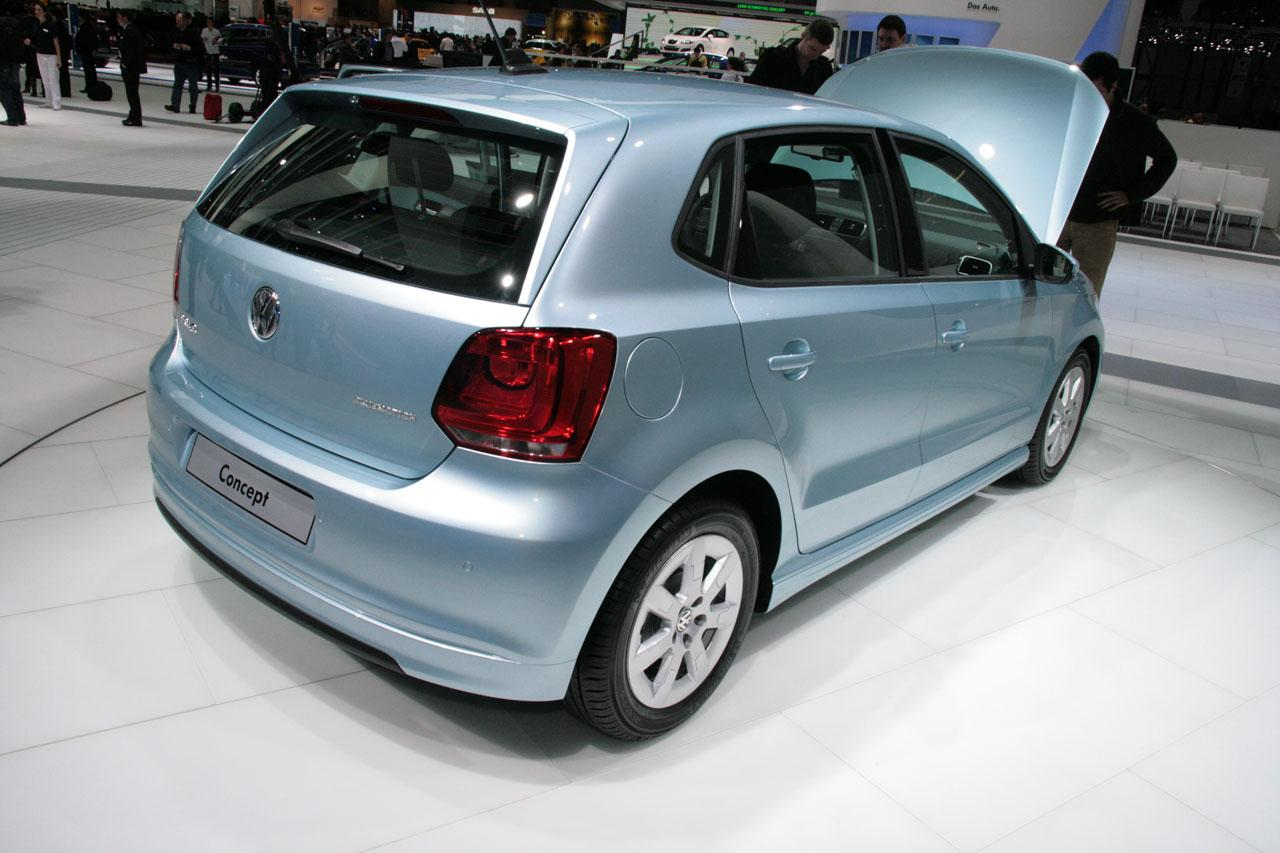 live in geneva volkswagen polo mk v and bluemotion concept it s your auto world new cars. Black Bedroom Furniture Sets. Home Design Ideas
