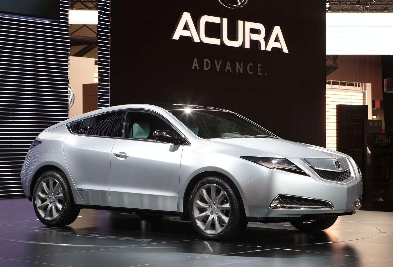acura zdx concept live at 2009 new york auto show img it s your auto world new cars. Black Bedroom Furniture Sets. Home Design Ideas