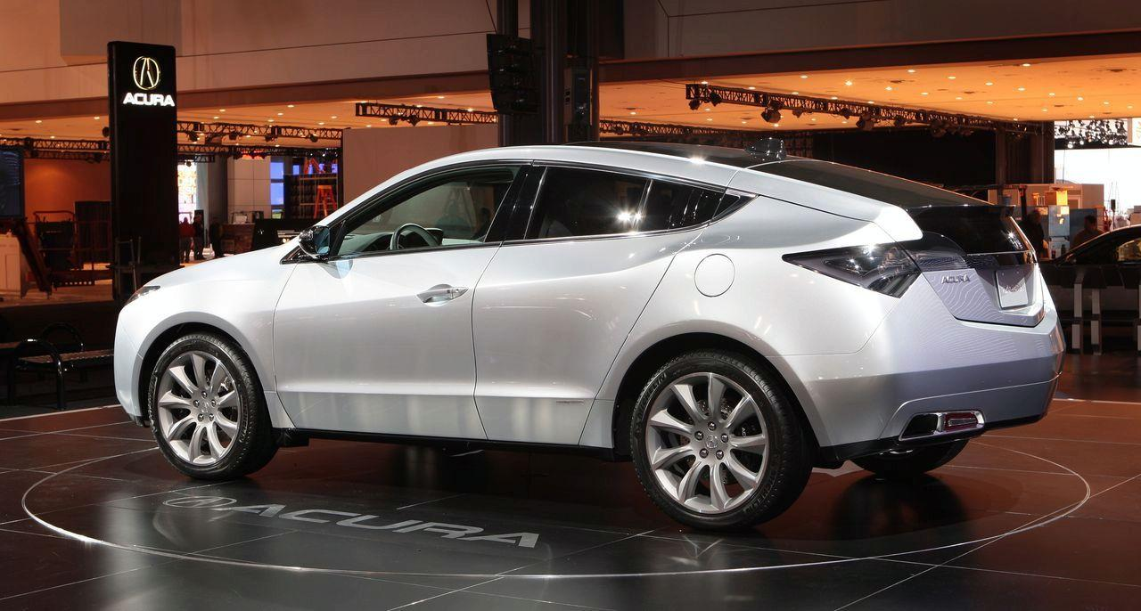 Acura ZDX Concept LIVE at 2009 New York Auto Show img_2  Itu2019s your auto world :: New cars, auto