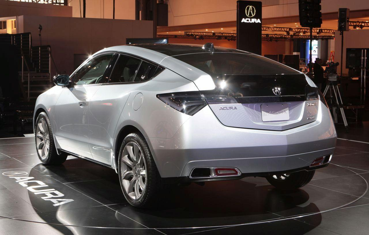 New Acura ZDX Concept Revealed at New York Auto Show (photos + video on acura rdx touch up paint, acura tsx touch up paint, acura touch up paint pen,