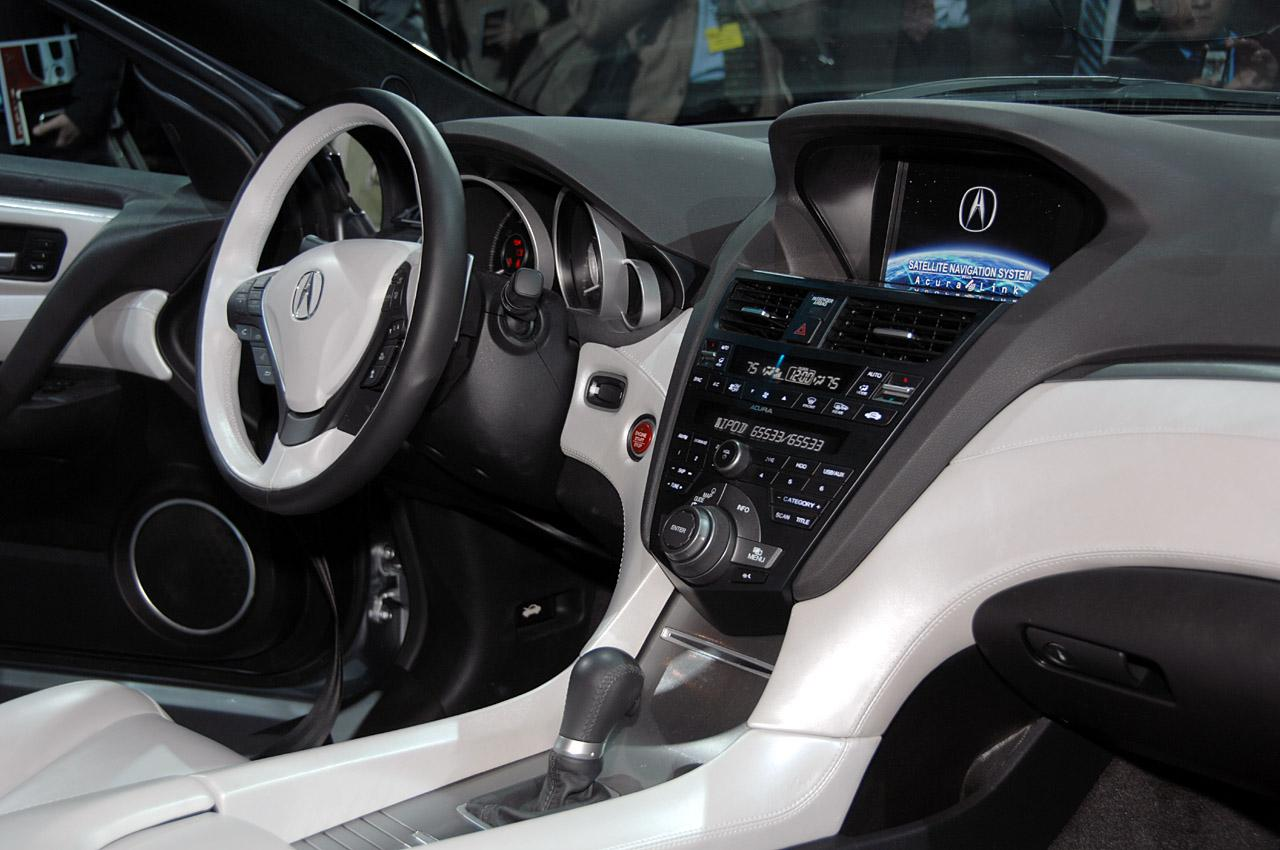 acura zdx concept live at 2009 new york auto show interior img 7 it s your auto world new. Black Bedroom Furniture Sets. Home Design Ideas