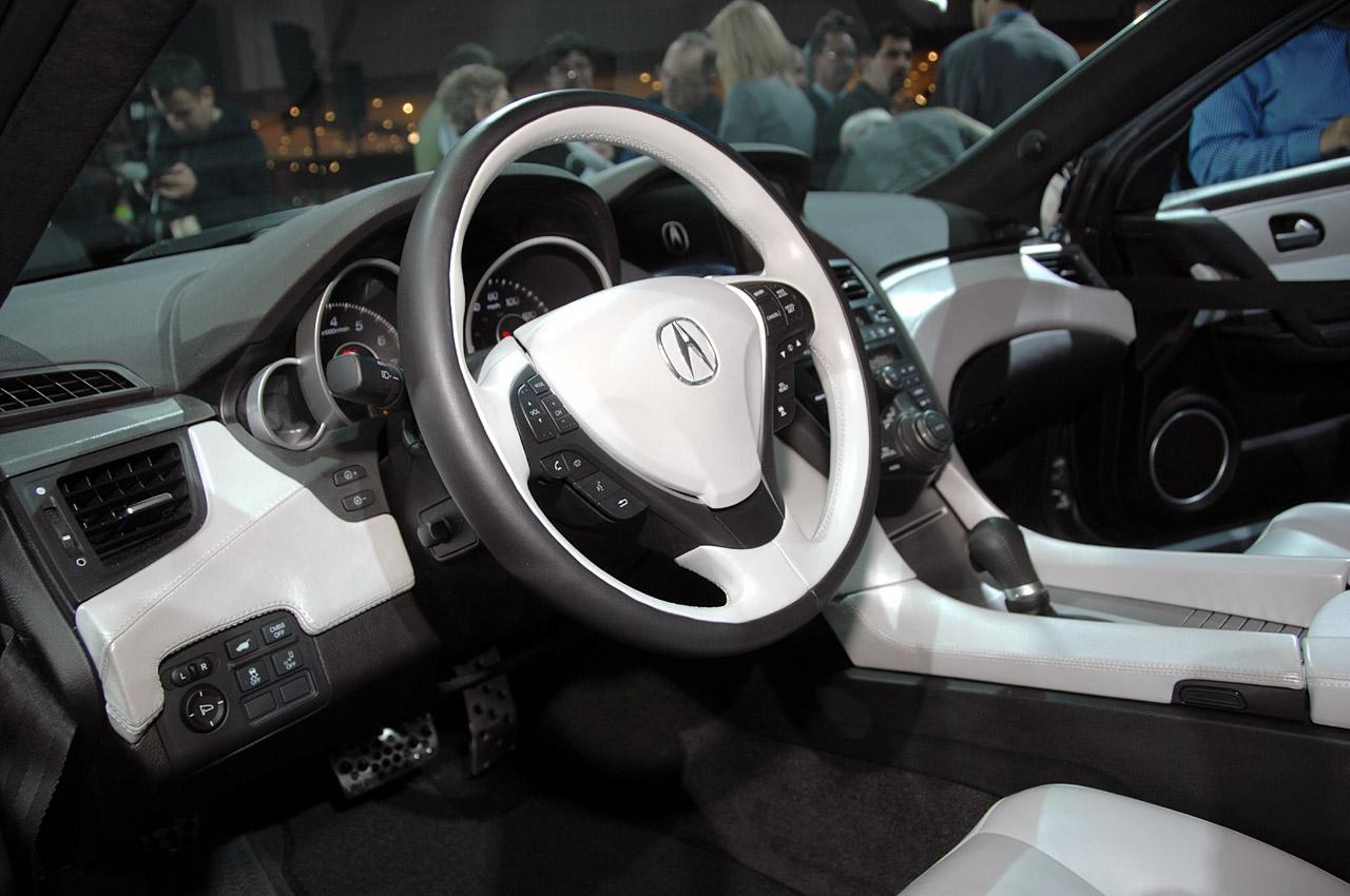 New Acura ZDX Concept Revealed At New York Auto Show (photos + Video) » Acura  ZDX Concept LIVE At 2009 New York Auto Show Interior Img_9