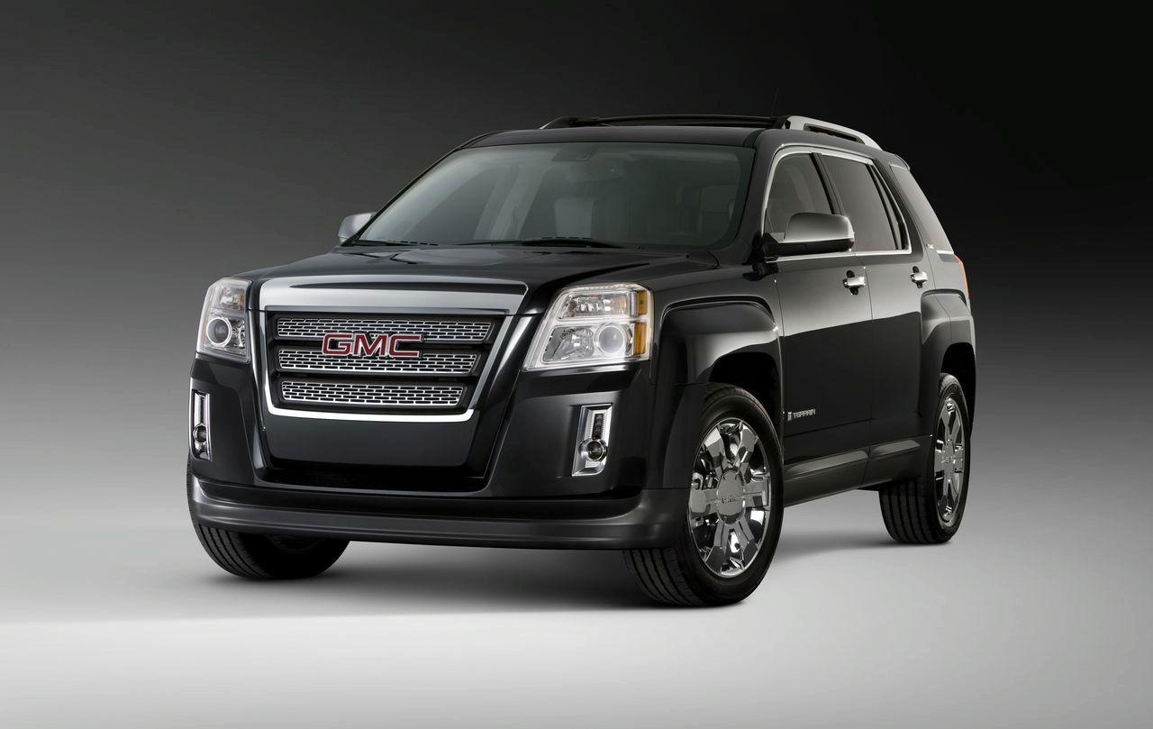 New 2010 GMC Terrain Revealed (details and photos) » gmc-terrain-suv