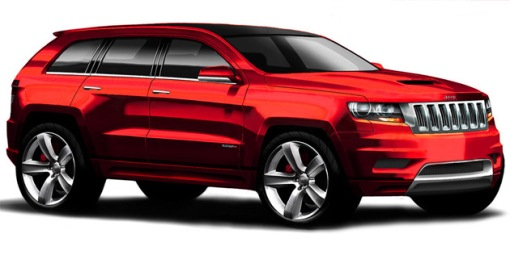 Jeep Grand Cherokee SRT8 design sketch img_1