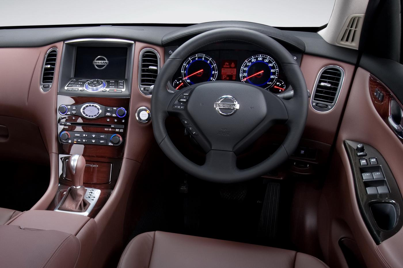 Image Gallery Nissan Interior