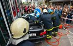 BMW 3-Series Touring crash between  Tram and Traffic Pole Tallin, Estonia img_11