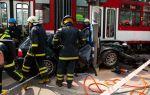 BMW 3-Series Touring crash between  Tram and Traffic Pole Tallin, Estonia img_2
