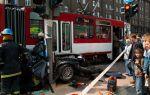 BMW 3-Series Touring crash between  Tram and Traffic Pole Tallin, Estonia img_3