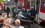 BMW 3-Series Touring crash between  Tram and Traffic Pole Tallin, Estonia img_4