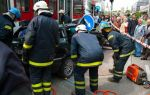 BMW 3-Series Touring crash between  Tram and Traffic Pole Tallin, Estonia img_7