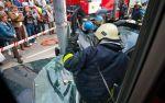 BMW 3-Series Touring crash between  Tram and Traffic Pole Tallin, Estonia img_8