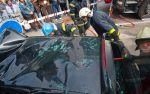 BMW 3-Series Touring crash between  Tram and Traffic Pole Tallin, Estonia img_9