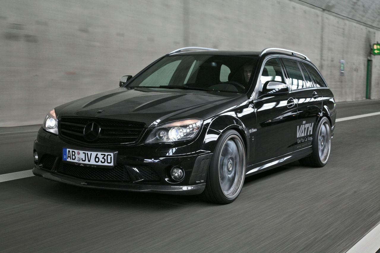 Tuning vath v63rs based on mercedes benz c63 amg estate for Mercedes benz c63 amg wagon