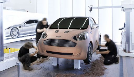 Aston Martin Cygnet Luxury Commuter Concept Car teaser img_1